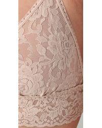 Hanky Panky | Natural Stretch Lace Soft Bra | Lyst