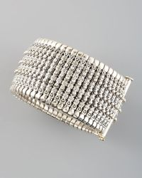 Konstantino - Metallic Hera Silver Cuff - Lyst