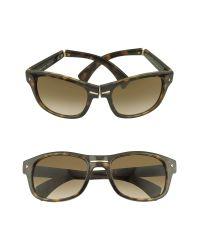 Prada Black Signature Plastic Sunglasses