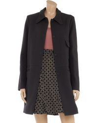 Marni - Black Cottontwill Coat - Lyst