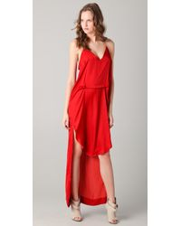 Kimberly Ovitz Women S Red Ishi Dress