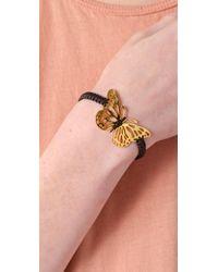 Tai Black Butterfly Charm Bracelet