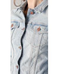 J Brand | Blue Slim Fit Denim Jacket | Lyst