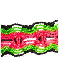 ASOS - Multicolor Neon Curve Friendship Bracelet - Lyst