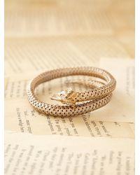 Free People | Metallic Vintage Ram Cuff Bracelet | Lyst