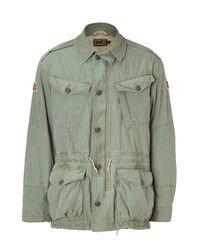 Polo Ralph Lauren | Green British Combat Jacket for Men | Lyst