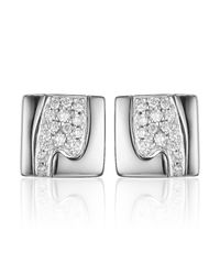 Georg Jensen Metallic Fusion Stud Earrings
