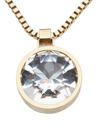 Lanvin | Gold Long Necklace | Lyst