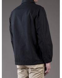Stussy Black Field Coach Jacket for men