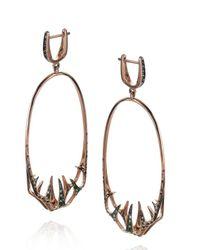 Tomasz Donocik | Pink Venus Fly Trap Hoop Earrings | Lyst
