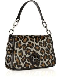 Tory Burch | Multicolor Leopard-print Calf Hair and Leather Bag | Lyst