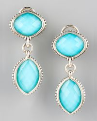 Lagos | Blue Venus Drop Earrings | Lyst