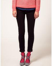 Falke Red Cotton Touch Socks
