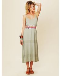 Free People | Multicolor Floral Galore Obi Belt | Lyst