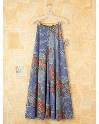 Free People | Blue Vintage Missoni Metallic Palazzo Pants | Lyst