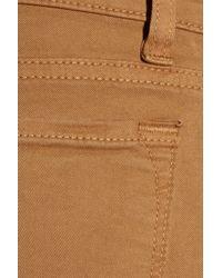 J Brand   Brown 912 Low-rise Skinny Jeans   Lyst