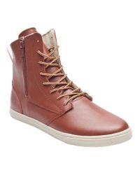 Radii Brown Hampton High Slim Sneaker for men