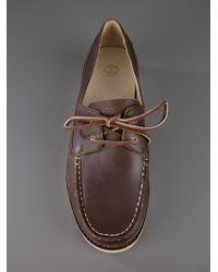 Timberland Brown Abington Deck Shoe for men