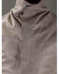 Boris Bidjan Saberi Natural Leather Jacket for men