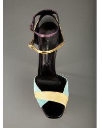 Diego Dolcini | Multicolor Platform Sandal | Lyst