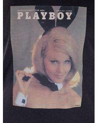 Dolce & Gabbana Gray Playboy Tshirt for men