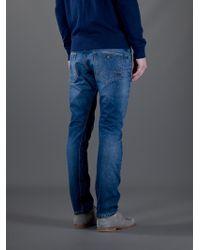 BOSS Orange Blue Slim Fit Jean for men