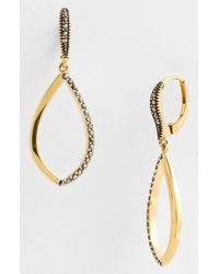 Judith Jack | Metallic Skinny Drop Earrings | Lyst