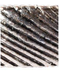 River Island | Metallic Burnished Ring for Men | Lyst