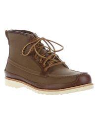 Timberland Green Abington 6 Eye Boot for men
