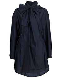 3.1 Phillip Lim | Blue Transformable Hooded Parka | Lyst