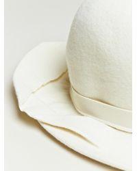 Comme des Garçons - White Mens High Crown Hat for Men - Lyst