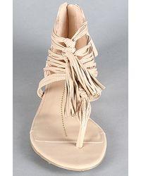 DV by Dolce Vita | Beige The Ilana Sandal in Nude Stella | Lyst