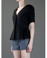 Emporio Armani Black Short Sleeve Jacket