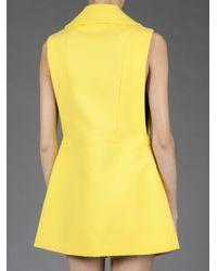 Marni Yellow Sleeveless Jacket