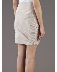Pauw Natural Silk Skirt