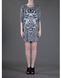 Stine Goya White Spring Bird Carla Dress