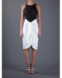 The Row Natural Sarong Skirt