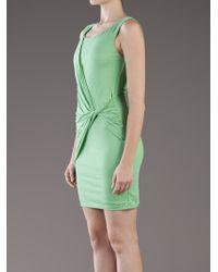 Velvet By Graham & Spencer - Green Jenson Boatneck Dress - Lyst