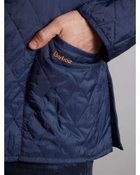Barbour Blue Lightweight Liddesdale Jacket for men