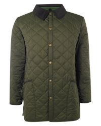 Barbour Green Liddesdale Coloured Lined Jacket for men