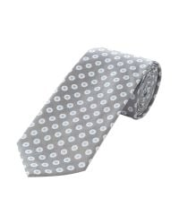 Bäumler Gray Square in Spot Tie for men