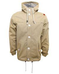 Beck & Hersey Natural Boater Jacket with Hood for men