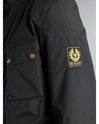 Belstaff Black Merton 4 Pocket Jacket for men