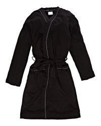 Calvin Klein Black Loungewear Robe for men