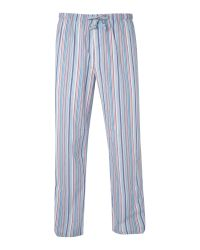 Calvin Klein Multicolor Striped Loungewear Pant for men