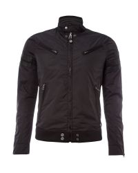 DIESEL Black Mens Casual Jacket for men