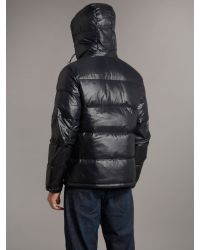 Fred Perry | Black Down Jacket for Men | Lyst