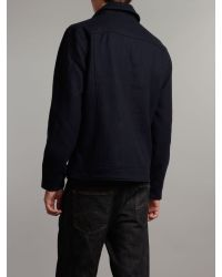 Fred Perry Blue Guardsman Jacket for men