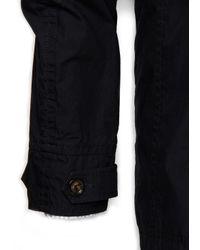 Mango Blue Adriatic Cotton Jacket for men