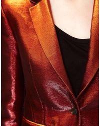 Surface To Air Brown Surface To Air Glitter Jacket